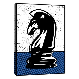 """PTM Images 9-108624  PTM Canvas Collection 10"""" x 8"""" - """"Chess Knight"""" Giclee Sports and Hobbies Art Print on Canvas"""