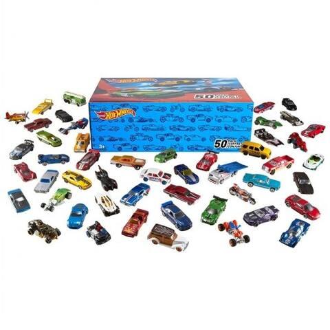 Hot Wheels Customized 50 Car Pack