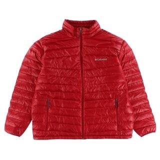 Columbia Mens Platinum 860 TurboDown Jacket Red - XL