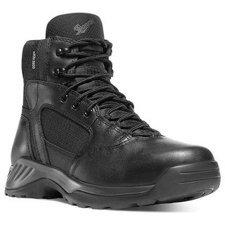 "Danner Men's Kinetic GORE-TEX 6"" Black Full Grain Leather/Nylon"