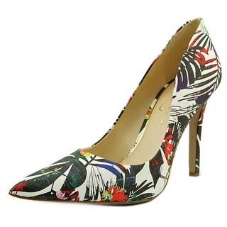 Jessica Simpson Cassani Pointed Toe Leather Heels