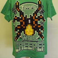 Terraria Brothers Wall Creeper Graphic Tee Youth Small S Size 8 Shirt 74Du