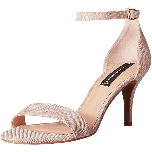 3f010b9d36d STEVEN by Steve Madden Womens Viienna Leather Open Toe Special Occasion  Ankle... Click to Zoom