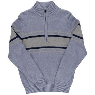 Izod Mens Varisty Full Zip Cardigan Sweater
