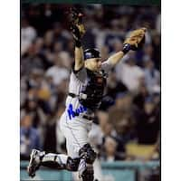 Signed Lo Duca Paul New York Mets 8x10 Photo autographed