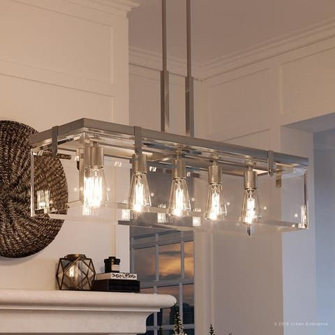 Buy Nickel Finish Ceiling Lights Online at Overstock.com | Our Best ...