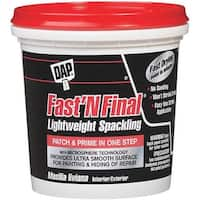 Dap Fast & Final Spackling 12140 Unit: HPT