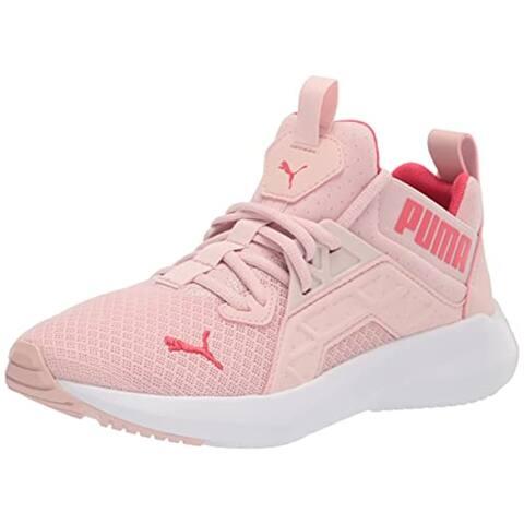 PUMA Softride Enzo NXT Running Shoe, Lotus-Paradise Pink White