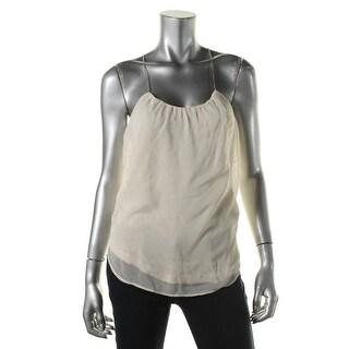 Zara Collection Womens Sheer Sleeveless Pullover Top