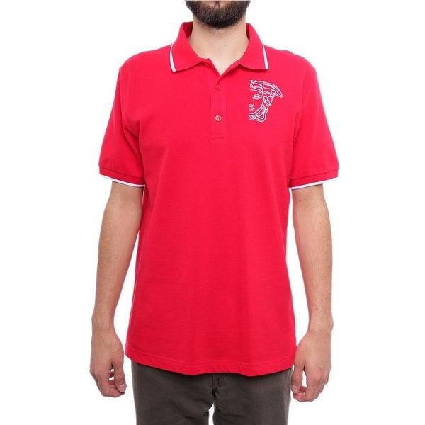 Versace 19.69 Abbigliamento Sportivo S.R.I. Short Sleeve Collared Polo