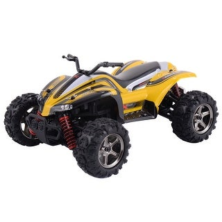 Costway High Speed RC ATV Buggy Off Road Car Radio Remote Control Yellow