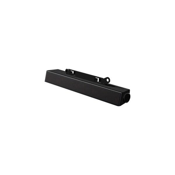 Dell AX510 Dell AX510 Sound Bar Speaker - 10 W RMS - Black - 135 Hz - 20 kHz - HDMI, Lightweight