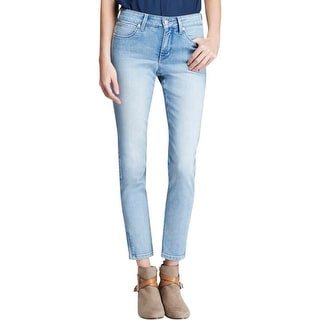 NYDJ Womens Ankle Jeans Denim Zip Ankle