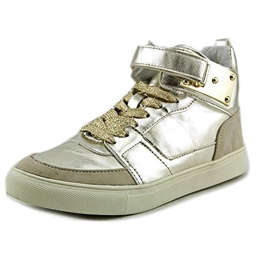 Madden Girl Womens Adorree Hight Top Lace Up Fashion Sneakers