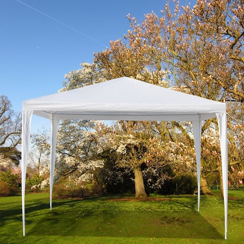 3x3m Upgrade Spiral Interface Wedding Party Canopy Tent 0/3side