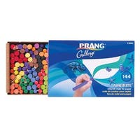 Prang Ambrite Colored Drawing Chalk for Artists, Assorted Colors, Pack of 144