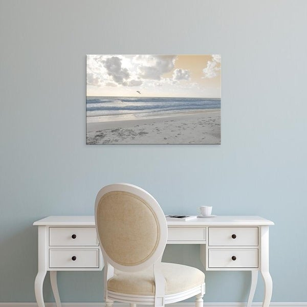 Easy Art Prints Sharon Chandler's 'Serene Sea I' Premium Canvas Art
