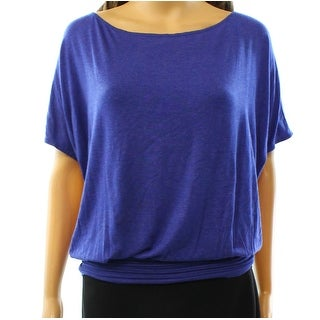 Max Studio NEW Blue Cobalt Women's Size Small S Banded Dolman Blouse