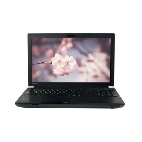 """Toshiba Tecra W50-A Core i7-4810QM 2.8GHz 8GB RAM 256GB SSD DVD-RW 15.6"""" Full-HD Win 10 Pro Laptop (Refurbished)"""
