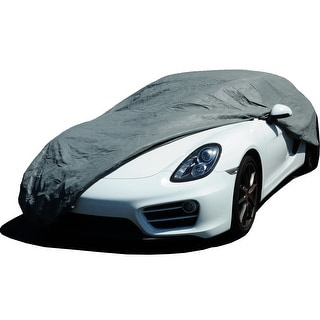 KM World 3-Layer Deluxe Ready Waterproof Car Cover, Fits Ford Mustang 2005-2016 Models