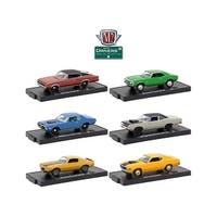 Drivers 6 Cars Set Release 47 In Blister Packs 1/64 Diecast Model Cars by M2 Machines