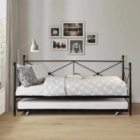 Griffin Metal Daybed with Trundle
