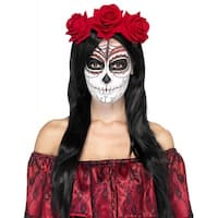 Day of the Dead Headband Adult Costume Accessory
