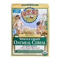 Earth's Best - Organic Oatmeal Cereal ( 12 - 8 OZ)