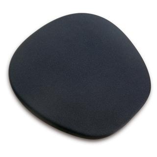 Memory Foam Ergonomic Mouse Mat- Black