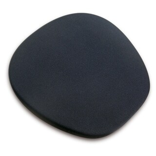 Memory Foam Ergonomic Mouse Mat- Black