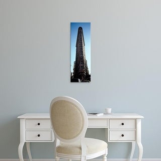 Easy Art Prints Panoramic Image 'Office building, Flatiron Building, Manhattan, New York City, New York' Canvas Art