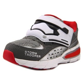 Star Wars by Stride Rite STORM TROOPER Youth W Round Toe Synthetic Sneakers