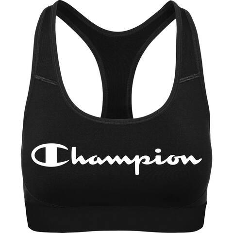 Champion Womens The Absolute Workout Sports Bra Medium Impact Fitness