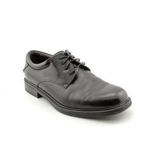 Nunn Bush Maury Men W Round Toe Leather Black Oxford