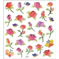 Long Stemmed Roses - Multicolored Stickers