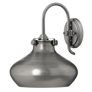 Hinkley Lighting 3178 1 Light Indoor Wall Sconce with Metal Dome Shade from the Congress Collection