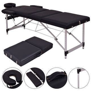 Costway Black Portable Massage Table Aluminum Facial SPA Bed Tattoo w/Free Carry Case https://ak1.ostkcdn.com/images/products/is/images/direct/fe4c483b6e72c6f00e543a59e130dcfabd39a88d/Costway-Black-Portable-Massage-Table-Aluminum-Facial-SPA-Bed-Tattoo-w-Free-Carry-Case.jpg?impolicy=medium