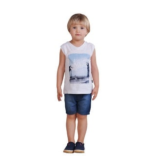 Pulla Bulla Toddler Boy Tank Top Graphic Muscle Tee
