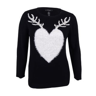 Style & Co. Women's Plus Size Reindeer Holiday Sweater (Option: 3x)