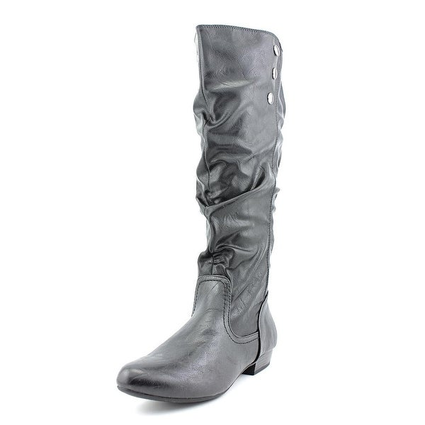 White Mountain Funhouse   Round Toe Synthetic  Knee High Boot