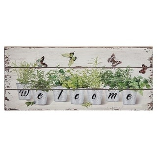 Link to Floral Welcome Sign Similar Items in Decorative Accessories