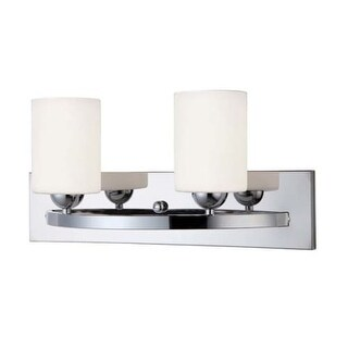 "Canarm IVL370A02-O Hampton 2 Light 18"" Wide Bathroom Vanity Light"