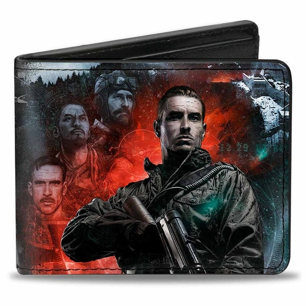 Call Of Duty Black Ops Iii Der Eisendrache Edward Richtofen Pose 3 Bi-Fold Wallet - One Size Fits most