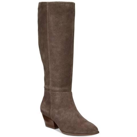 Style & Co. Womens izalea Crocodile Closed Toe Ankle Fashion Boots