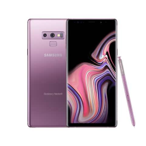 Samsung Galaxy Note 9 128GB Lavender Purple - Unlocked - Acceptable - Lavender Purple