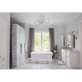 Wyndham Collection Jamie 67-inch Freestanding Soaking Bathtub in White