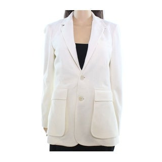 Polo Ralph Lauren NEW White Ivory Women's Size 10 Wool Blend Blazer