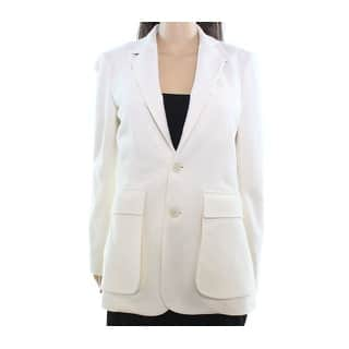 Polo Ralph Lauren NEW White Ivory Womens Size 14 Two-Button Blazer|https://ak1.ostkcdn.com/images/products/is/images/direct/fe547267c31f4eca3df5f6a4640ccbc30add9dda/Polo-Ralph-Lauren-NEW-White-Ivory-Womens-Size-14-Two-Button-Blazer.jpg?impolicy=medium