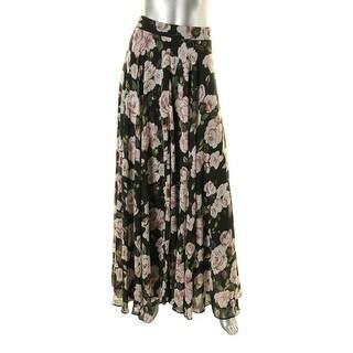 Lucy Paris Womens Maxi Floral Maxi Skirt