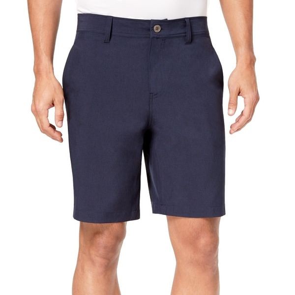 f57898b06e Shop 32 DEGREES Navy Blue Mens Size 34 Stretch Performance Shorts - Free  Shipping On Orders Over $45 - Overstock - 28237342